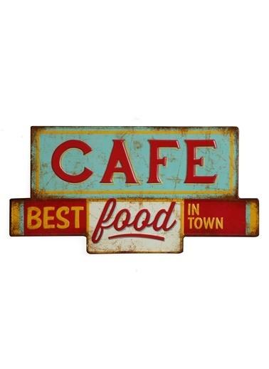 "Warm Design ""Café Best Food"" Temalı Duvar Dekoru © Renkli"